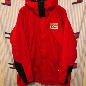 Vintage Marlboro windbreaker jacket